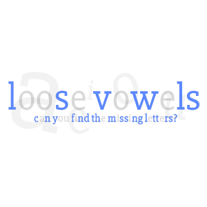 Logo: Loose Vowels